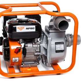 Motopompa RURIS MP 80 + furtun refulare 3`` 20m 7 CP